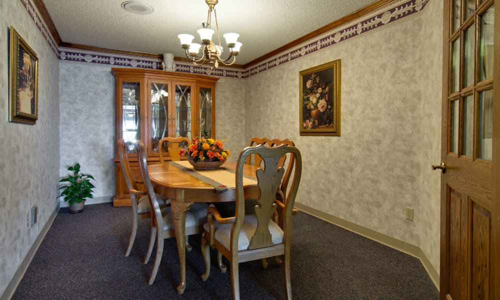 Private dining area at Pioneer in Marceline, Missouri