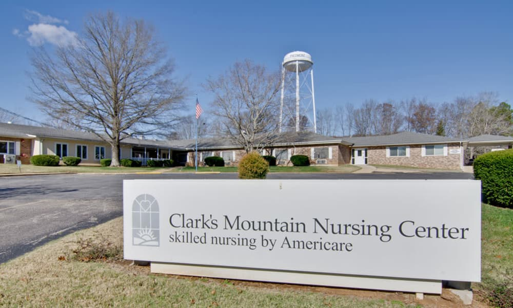 Branding and Signage outside of Clark's Mountain in Piedmont, Missouri