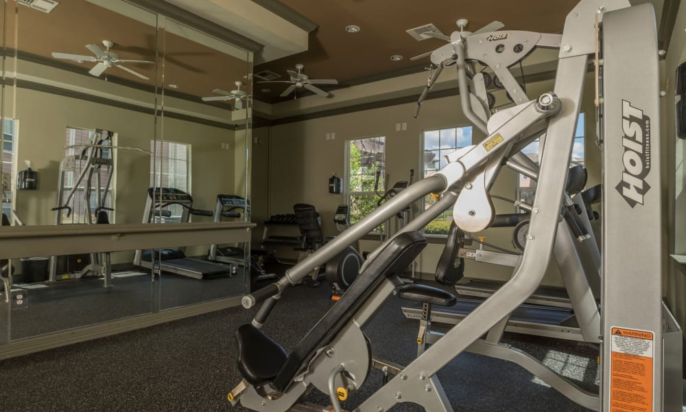 At Cambria Cove Apartments we offer a fully equipped fitness center in Houston, Texas