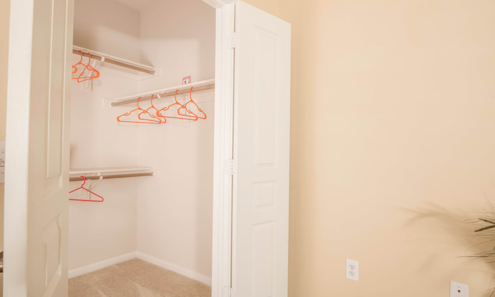 Cambria Cove Apartments in Houston, Texas offers spacious closets