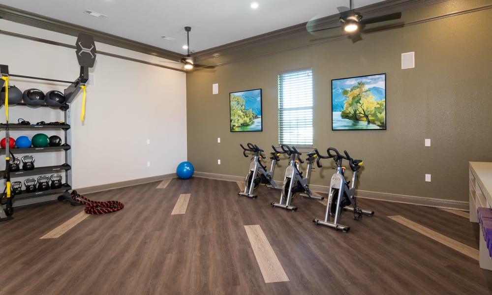 Yoga studio in Tuscaloosa, Alabama for Landmark residents