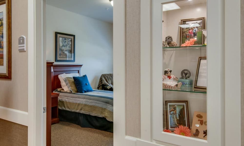 Entryway to a single bedroom at Springfield Heights in Springfield, Tennessee