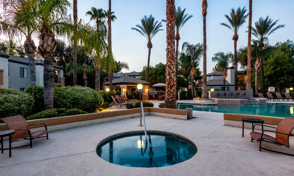 Pool At CentrePoint Apartments In Tucson AZ