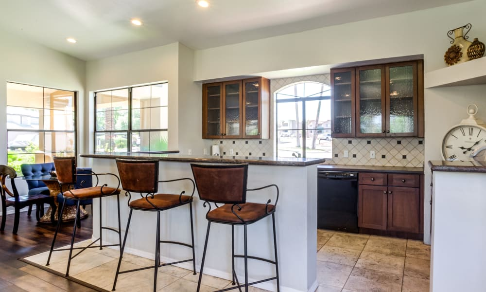 Common Area Kitchen At CentrePoint Apartments In Tucson AZ