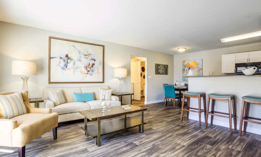 Living Area At CentrePoint Apartments In Tucson AZ