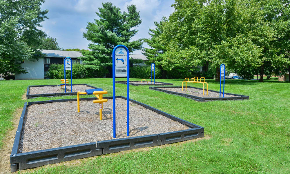 Exercise Area at Briarwood Apartments & Townhomes in State College, PA