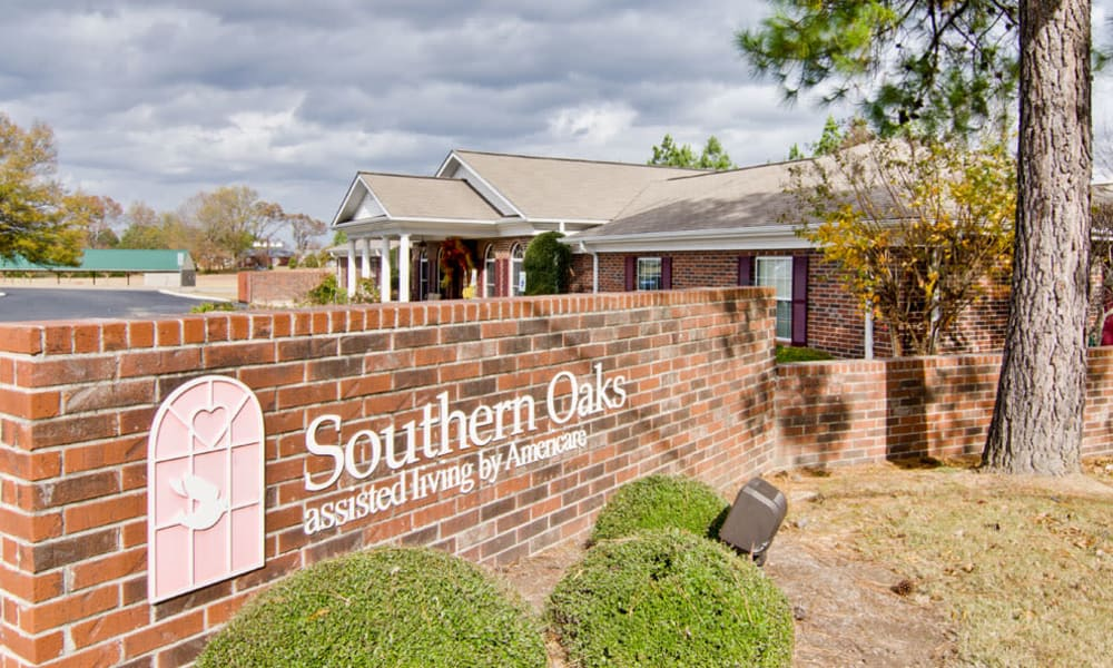 Branding and Signage outside of Southern Oaks in Henderson, Tennessee
