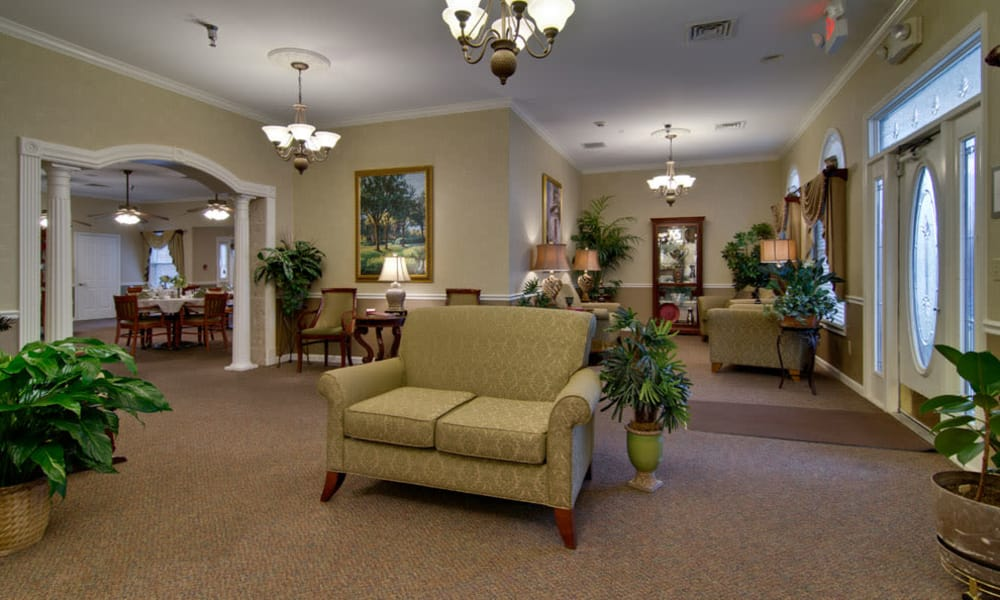 Foyer leading to the kitchen at Park View Meadows in Murfreesboro, Tennessee