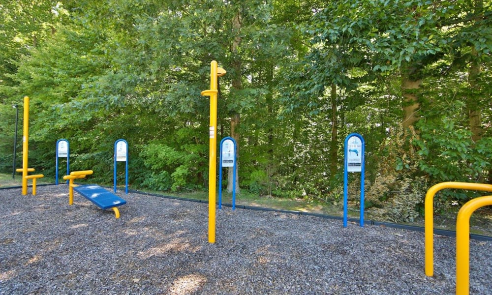 Our Apartments in Stafford, Virginia offer a Outdoor Fitness Center