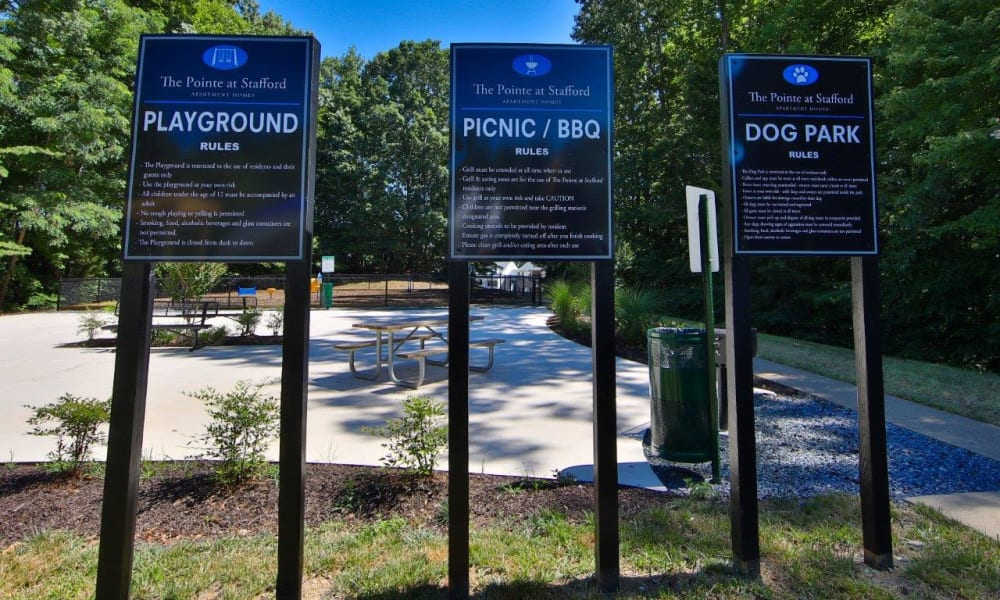 Beautiful playground at The Pointe at Stafford Apartment Homes in Stafford, Virginia