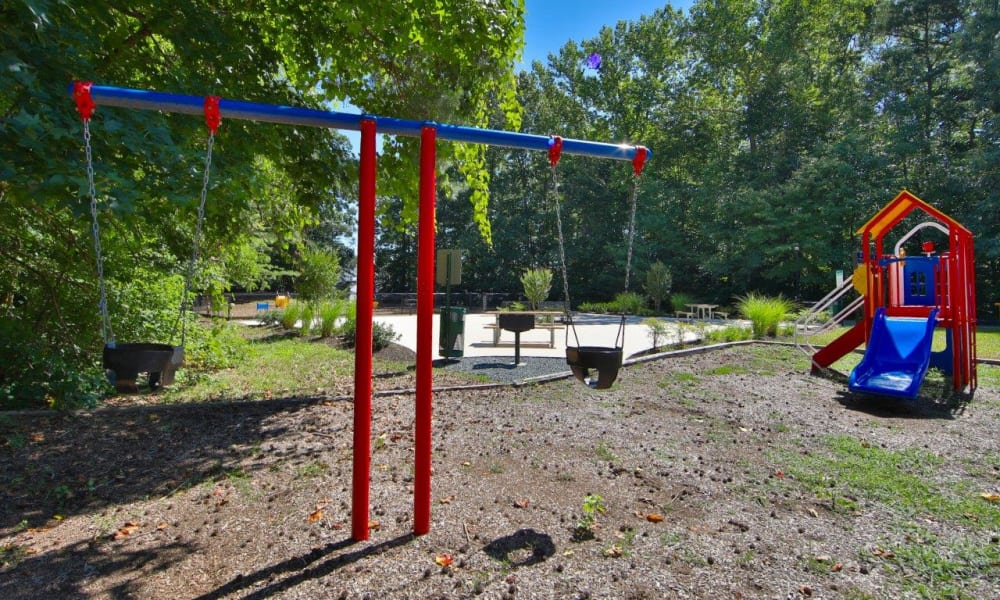 Beautiful playground at apartments in Stafford, Virginia