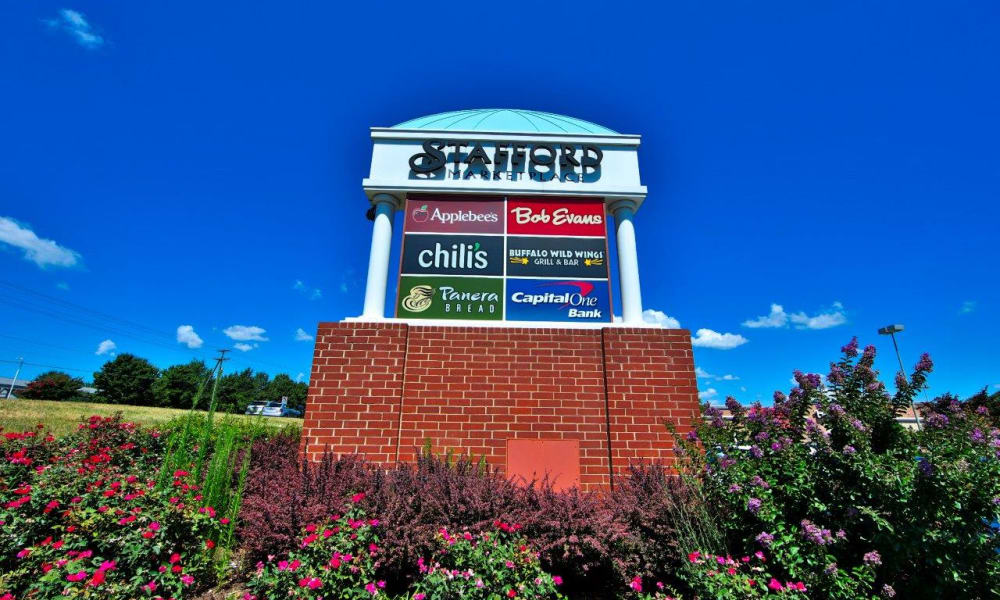 Local attraction at The Pointe at Stafford Apartment Homes in Stafford, Virginia