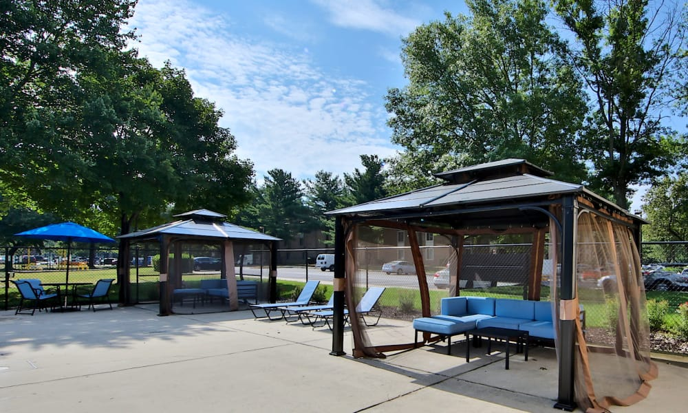 Private Patio Enjoy a luxury private patio at Northampton Apartment Homes