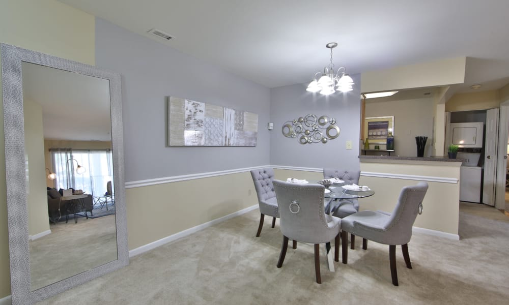 Northampton Apartment Homes offers a luxury living room in Largo, Maryland