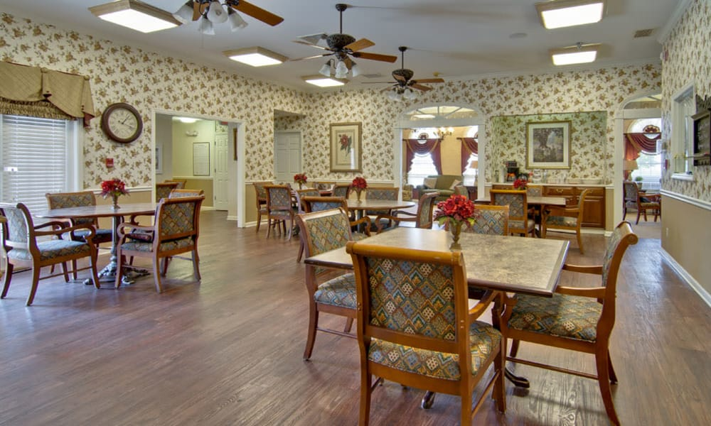 Dining hall at Spring Ridge in Springfield, MO