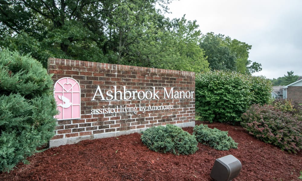 Branding and Signage outside of Ashbrook in Farmington, Missouri