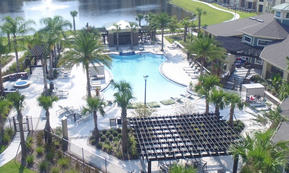 Our apartments in Kissimmee, Florida showcase a beautiful swimming pool