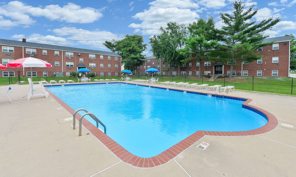Our apartments in Bellmawr, New Jersey showcase a luxury swimming pool