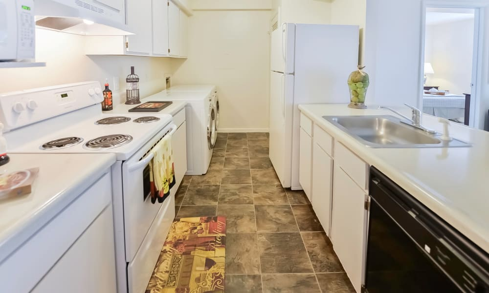 Beautiful kitchen at The Landings Apartment Homes in Absecon, New Jersey