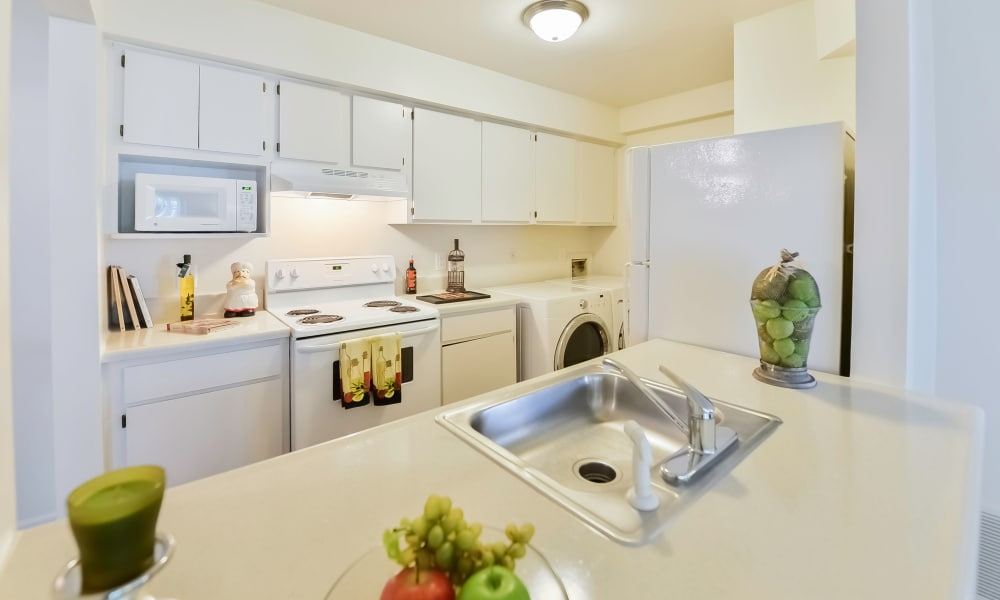 Enjoy a beautiful kitchen at The Landings Apartment Homes