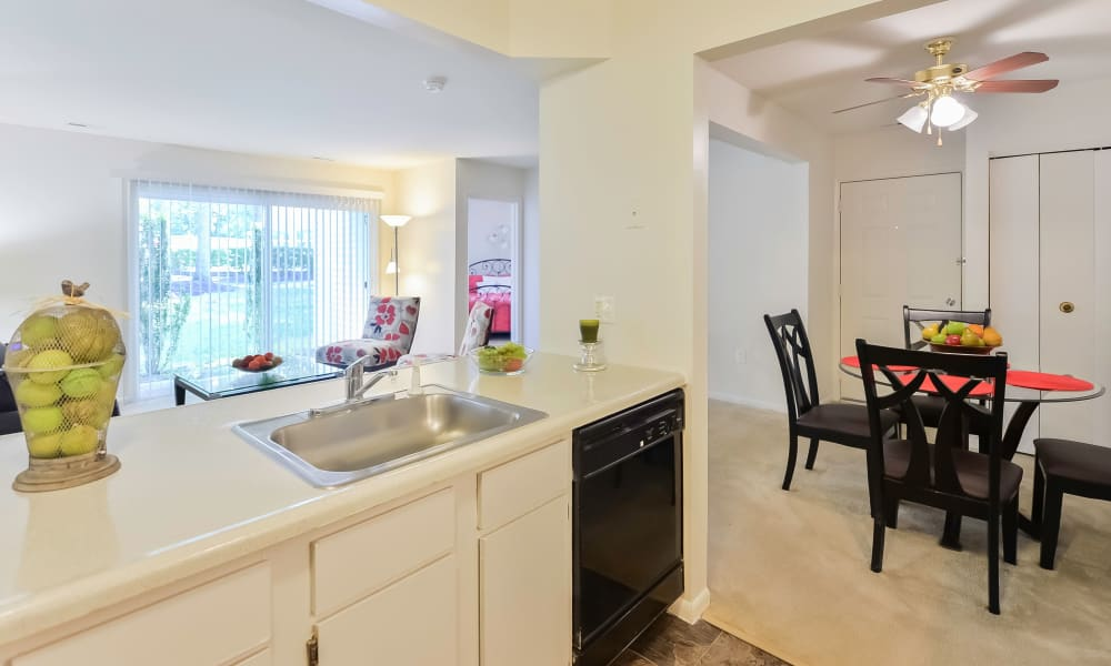 Our apartments in Absecon, New Jersey showcase a beautiful kitchen