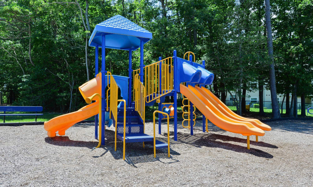 Beautiful playground at The Landings Apartment Homes in Absecon, New Jersey