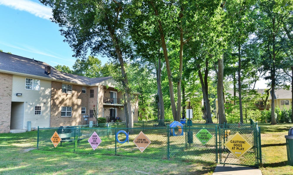 Spacious playground at apartments in Moorestown, New Jersey