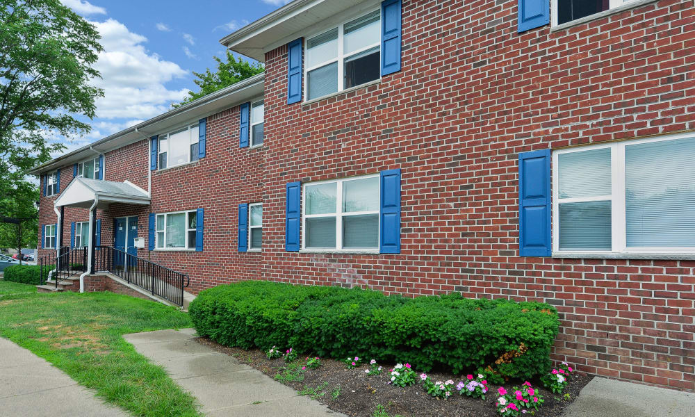 Beautiful exterior at Westview Apartment Homes in Westwood, New Jersey