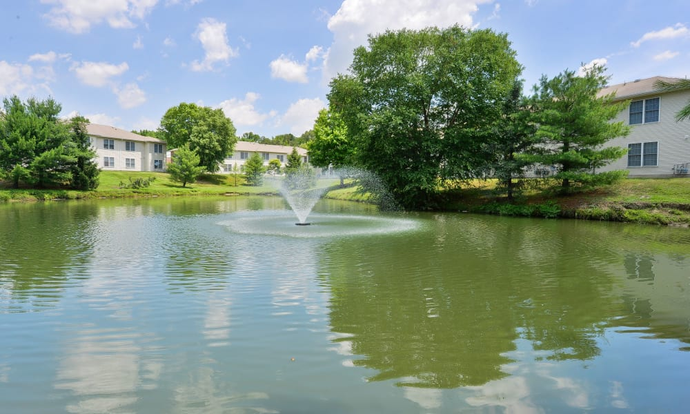 Pond at Woodview at Marlton Apartment Homes in Marlton, New Jersey