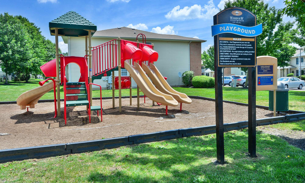 Playground at Woodview at Marlton Apartment Homes in Marlton, New Jersey