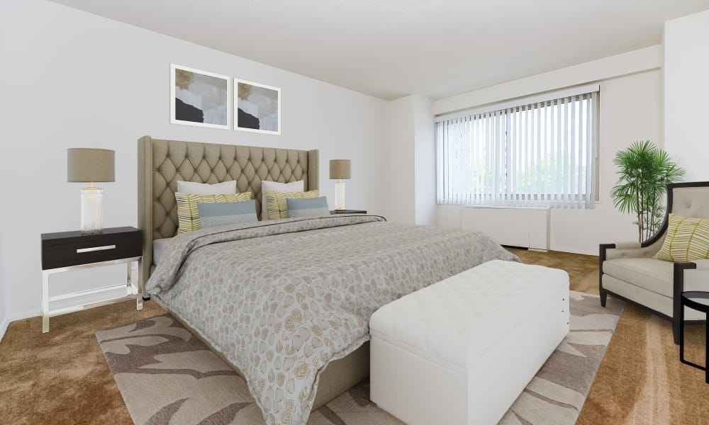 Our Apartments in Cherry Hill, New Jersey offer a Bedroom