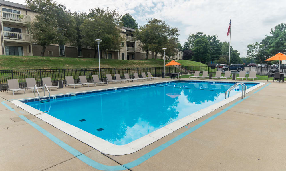 Our Apartments in South Park, Pennsylvania offer a Swimming Pool