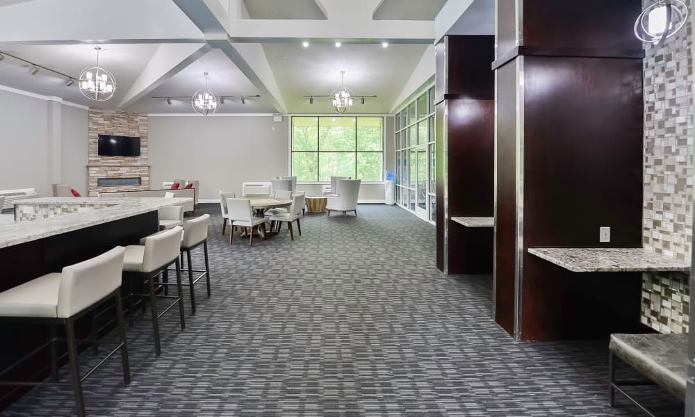 Our apartments in East Norriton, Pennsylvania showcase a spacious clubhouse