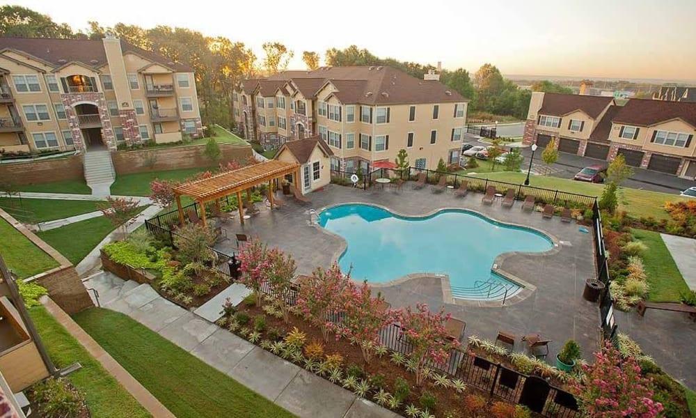 The pool at Tuscany Hills in Tulsa, Oklahoma