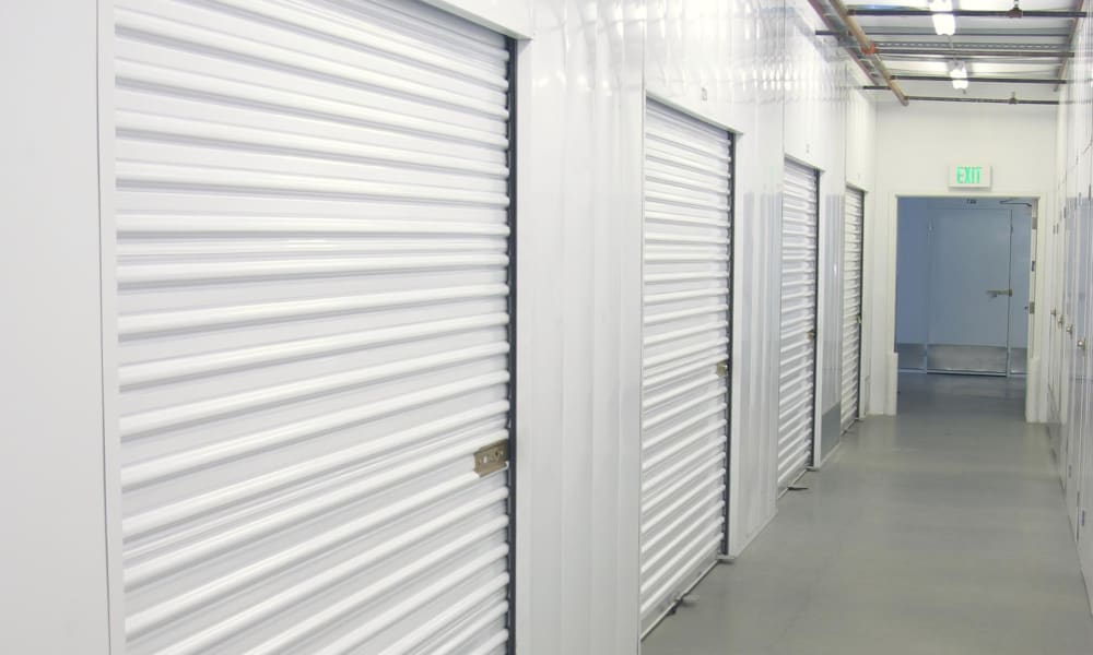 Climate controlled storage at A-1 Self Storage in National City, California