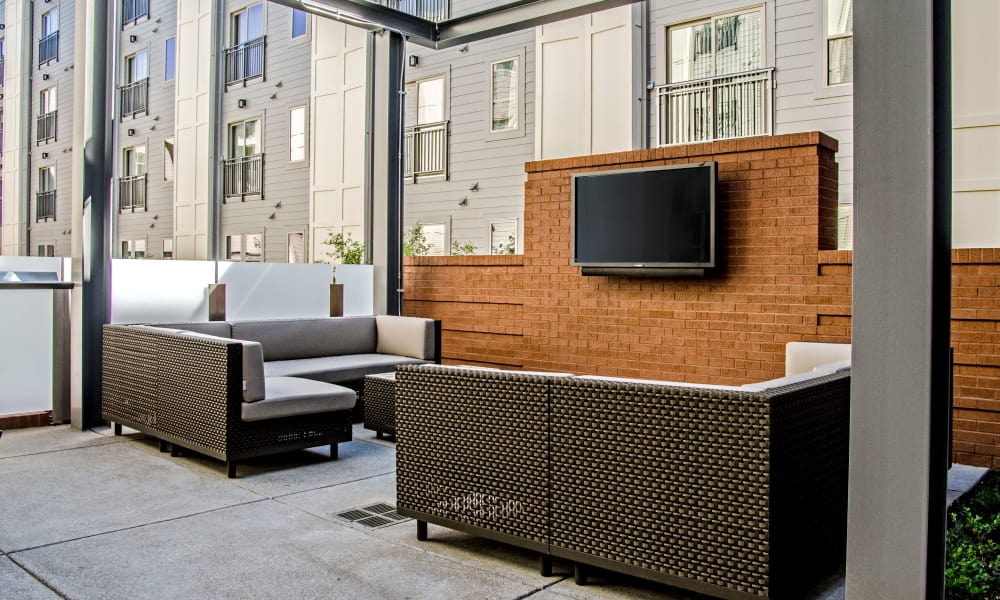 Luxury seating area at Station 40 in Nashville, Tennessee