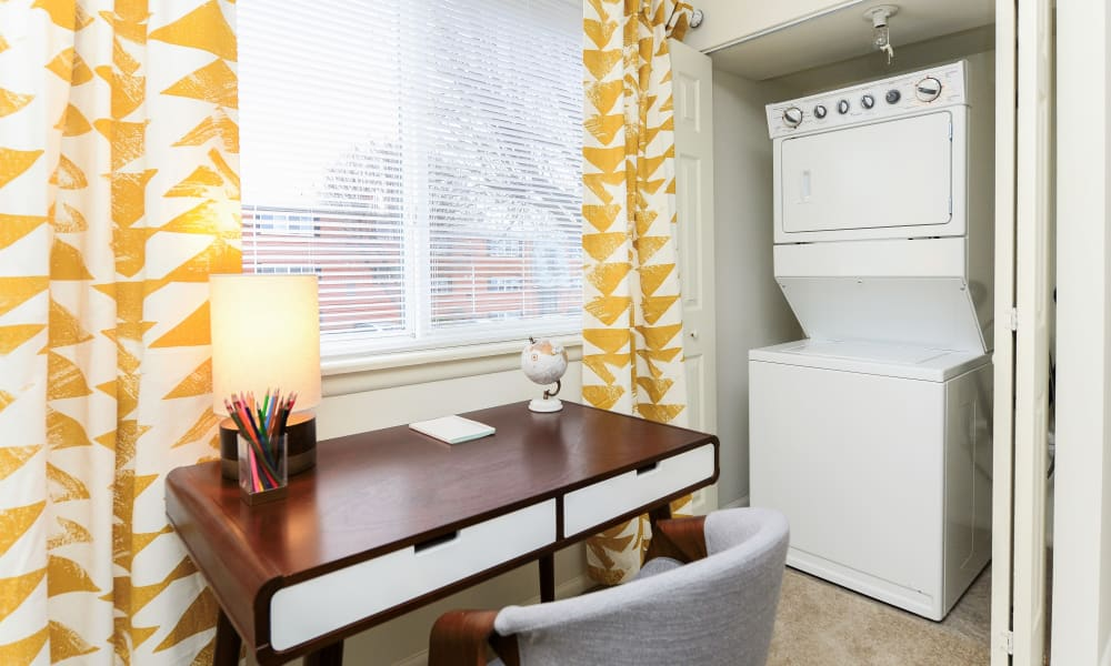 Enjoy apartments with a laundry room at Brookmont Apartment Homes