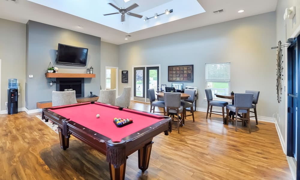 Enjoy Apartments with a Clubhouse at The Greens at Westgate Apartment Homes
