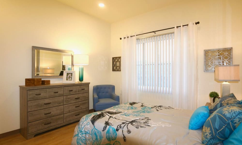 Bedroom at Westwind Memory Care in Santa Cruz, California