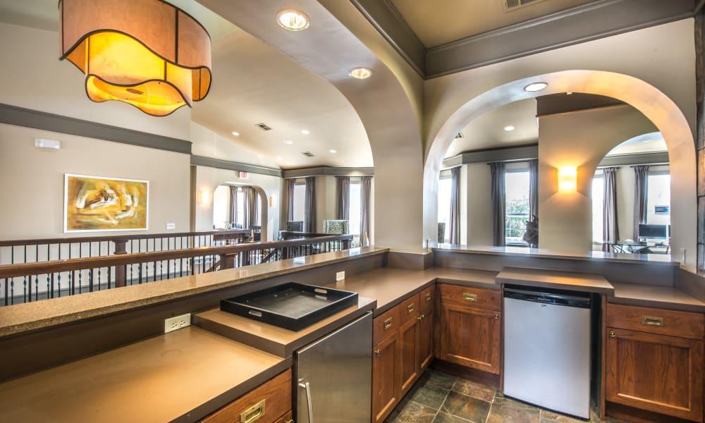 Clubhouse kitchen at Archer Stone Canyon in San Antonio, Texas