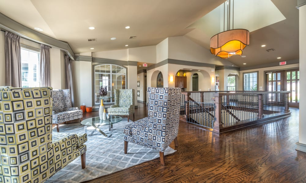 2nd story of clubhouse at Archer Stone Canyon in San Antonio, Texas