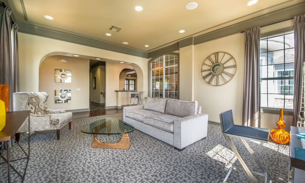 Beautiful living room at Archer Stone Canyon in San Antonio, Texas