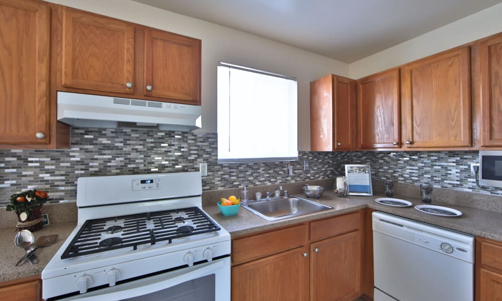 Kitchen at Westerlee Apartment Homes in Baltimore, Maryland