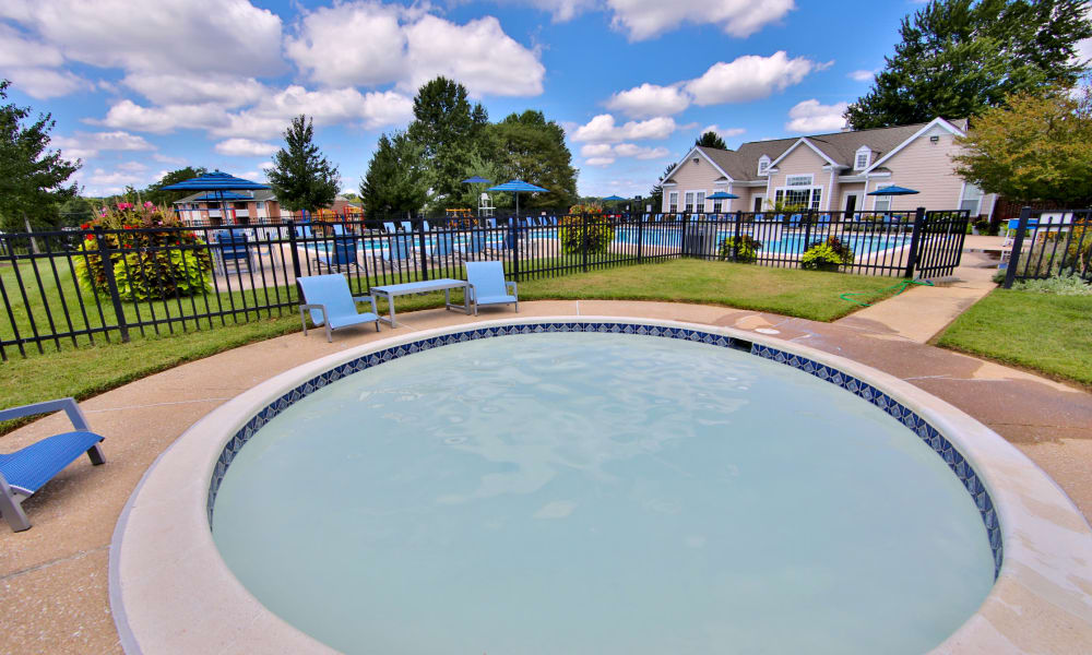 Hot Tub at Westerlee Apartment Homes in Baltimore, Maryland