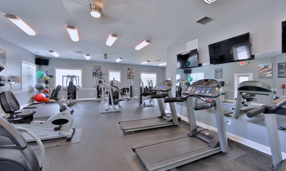 Fitness Center at Westerlee Apartment Homes in Baltimore, Maryland