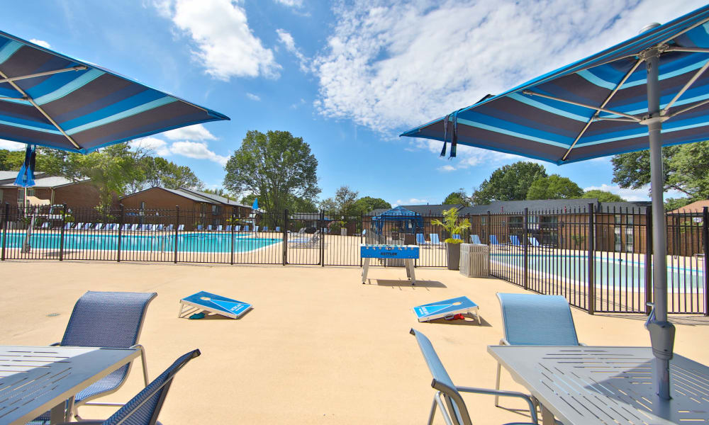Pool at Carriage Hill Apartment Homes in Randallstown, Maryland