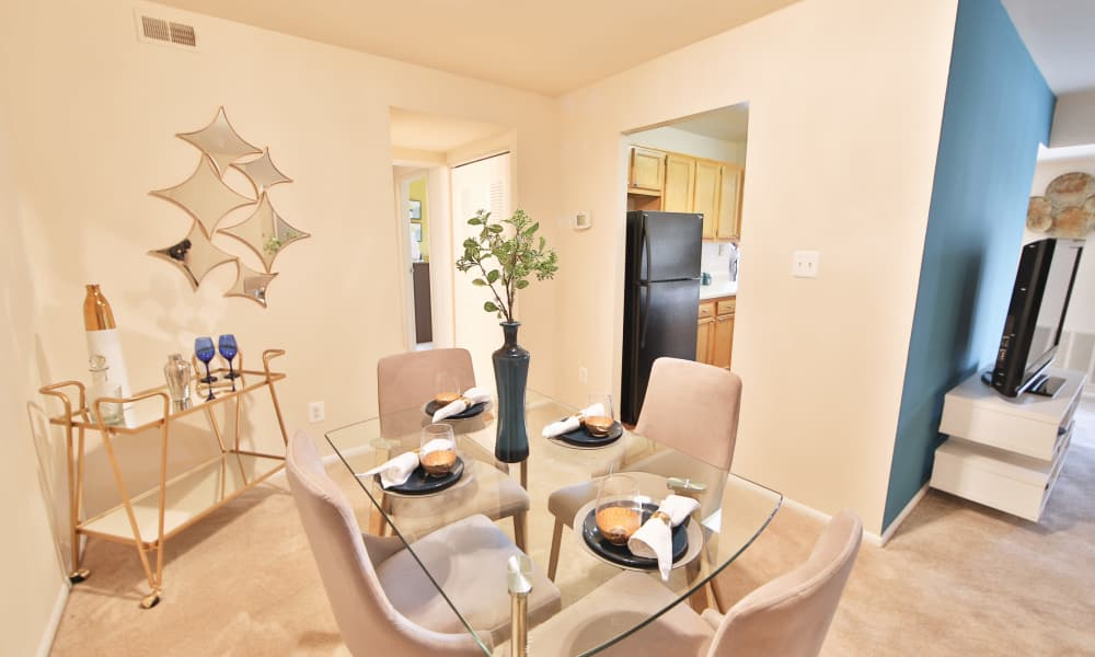 Dining Room at Carriage Hill Apartment Homes in Randallstown, Maryland
