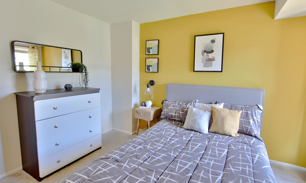 Bedroom at Carriage Hill Apartment Homes in Randallstown, Maryland