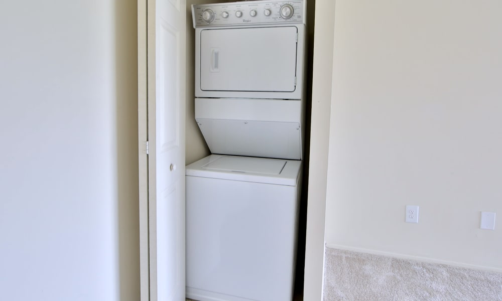 Enjoy apartments with a laundry facility at The Preserve at Owings Crossing Apartment Homes