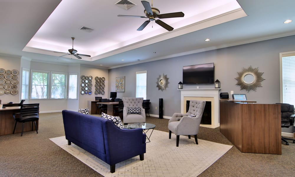 Clubhouse at The Preserve at Owings Crossing Apartment Homes in Reisterstown, Maryland